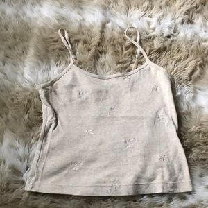 Victoria's Secret Cotton Cropped Cami
